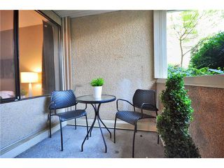"""Photo 9: 102 1350 COMOX Street in Vancouver: West End VW Condo for sale in """"BROUGHTON TERRACE"""" (Vancouver West)  : MLS®# V821764"""