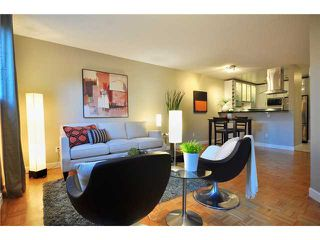 """Photo 3: 102 1350 COMOX Street in Vancouver: West End VW Condo for sale in """"BROUGHTON TERRACE"""" (Vancouver West)  : MLS®# V821764"""