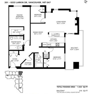 """Photo 20: 201 6333 LARKIN Drive in Vancouver: University VW Condo for sale in """"Legacy"""" (Vancouver West)  : MLS®# R2487622"""