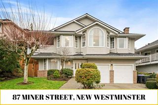 Photo 1: 87 MINER Street in New Westminster: Fraserview NW House for sale : MLS®# R2526114