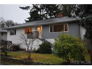 Photo 1: 3535 Maplewood Rd in VICTORIA: SE Cedar Hill Single Family Detached for sale (Saanich East)  : MLS®# 523898