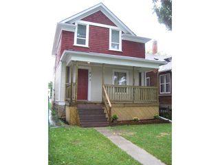 Photo 2: 493 ST JOHN'S Avenue in WINNIPEG: North End Residential for sale (North West Winnipeg)  : MLS®# 1101044