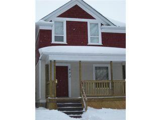 Photo 1: 493 ST JOHN'S Avenue in WINNIPEG: North End Residential for sale (North West Winnipeg)  : MLS®# 1101044