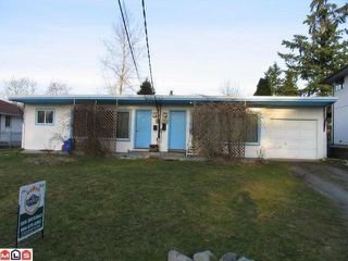 Photo 1: 13741 LARNER Road in Surrey: Bolivar Heights House Duplex for sale (North Surrey)  : MLS®# F1103182