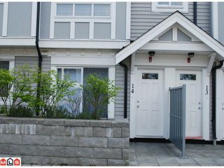 """Photo 2: 14 13239 OLD YALE Road in Surrey: Whalley Townhouse for sale in """"FUSE"""" (North Surrey)  : MLS®# F1011100"""