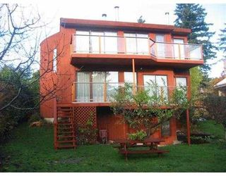 "Photo 1: 1113 LENORA RD: Bowen Island House for sale in ""DEEP BAY"" : MLS®# V574191"