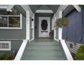 Photo 2: 1141 MCLEAN Drive in Vancouver: Grandview VE House for sale (Vancouver East)  : MLS®# V720822
