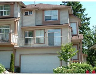"Photo 1: 97 35287 OLD YALE Road in Abbotsford: Abbotsford East Townhouse for sale in ""The Falls"" : MLS®# F2820871"