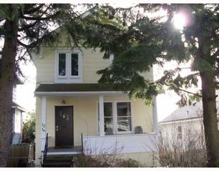 Photo 1: 1216 HAMILTON Street in New_Westminster: West End NW House for sale (New Westminster)  : MLS®# V751956