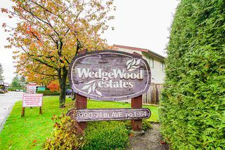 """Main Photo: 41 13990 74 Avenue in Surrey: East Newton Townhouse for sale in """"Wedgewood Estates"""" : MLS®# R2429372"""