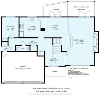 Photo 48: 13 GLEN MEADOW Crescent: St. Albert House for sale : MLS®# E4206137