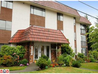 """Photo 1: 101 1458 BLACKWOOD Street: White Rock Condo for sale in """"Champlain Manor"""" (South Surrey White Rock)  : MLS®# F1022720"""