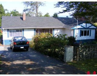 "Photo 1: 11315 LOUGHREN Drive in Surrey: Bolivar Heights House for sale in ""ELLENDALE/BIRDLAND"" (North Surrey)  : MLS®# F2915521"