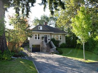 Photo 1: 4153 North Rd in Saanich: SW Strawberry Vale House for sale (Saanich West)  : MLS®# 844689
