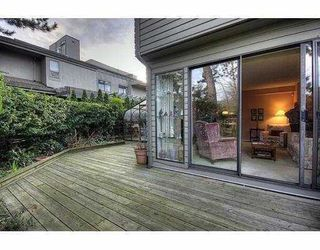 Photo 4: 1351 CHESTNUT Street in Vancouver: Kitsilano Townhouse for sale (Vancouver West)  : MLS®# V834724