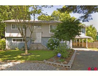 "Photo 1: 8462 117B Street in Delta: Annieville House for sale in ""Annieville"" (N. Delta)  : MLS®# F2821688"