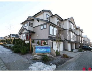 "Photo 1: 33 18828 69TH Avenue in Surrey: Clayton Townhouse for sale in ""STARPOINT"" (Cloverdale)  : MLS®# F2901097"