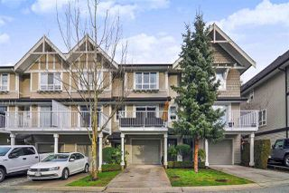 "Photo 1: 154 6747 203 Street in Langley: Willoughby Heights Townhouse for sale in ""SAGEBROOK"" : MLS®# R2427600"