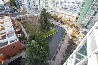 "Photo 4: 1207 193 AQUARIUS Mews in Vancouver: Yaletown Condo for sale in ""MARINASIDE RESORT"" (Vancouver West)  : MLS®# R2449781"