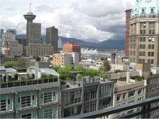 Photo 1: 1501 183 KEEFER Place in Vancouver: Downtown VW Condo for sale (Vancouver West)  : MLS®# V813475