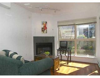 """Photo 1: 108 1195 W 8TH AV in Vancouver: Fairview VW Condo for sale in """"ALDER COURT"""" (Vancouver West)  : MLS®# V610123"""