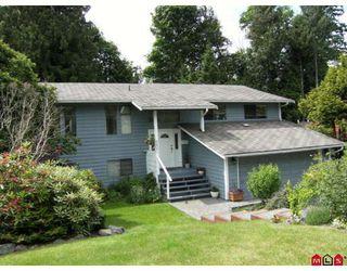 """Photo 1: 6821 WESTVIEW Drive in Delta: Sunshine Hills Woods House for sale in """"SUNSHINE HILLS"""" (N. Delta)  : MLS®# F2828401"""