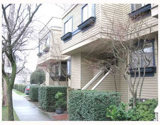 Photo 1: 5 1263 W 8TH Avenue in Vancouver: Fairview VW Townhouse for sale (Vancouver West)  : MLS®# V773393