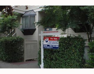 Photo 2: 5 1263 W 8TH Avenue in Vancouver: Fairview VW Townhouse for sale (Vancouver West)  : MLS®# V773393