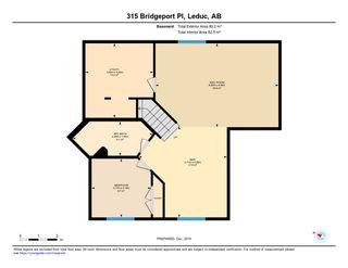 Photo 38: 315 Bridgeport Place: Leduc House for sale : MLS®# E4183041