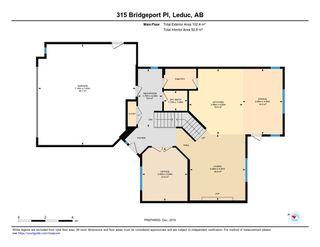 Photo 36: 315 Bridgeport Place: Leduc House for sale : MLS®# E4183041