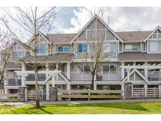 """Photo 1: 4 6555 192A Street in Surrey: Clayton Townhouse for sale in """"Carlisle at Southlands"""" (Cloverdale)  : MLS®# R2445416"""
