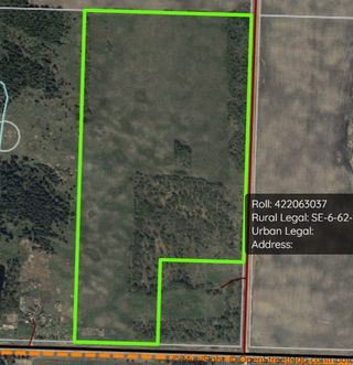 Photo 1: 225000 HWY 661: Rural Athabasca County Rural Land/Vacant Lot for sale : MLS®# E4197474