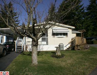 "Photo 1: 144 3665 244TH Street in Langley: Otter District Manufactured Home for sale in ""LANGLEY GROVE ESTATES"" : MLS®# F1003945"