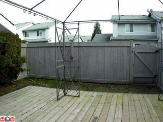 "Photo 6: 13 26970 32ND Avenue in Langley: Aldergrove Langley Townhouse for sale in ""Parkside Village"" : MLS®# F1102602"