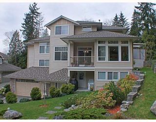 Photo 1: 8 MOSSOM CREEK Drive in Port_Moody: North Shore Pt Moody House 1/2 Duplex for sale (Port Moody)  : MLS®# V762195
