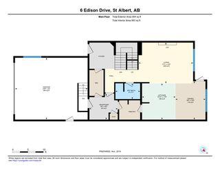 Photo 35: 6 Edison Drive: St. Albert House for sale : MLS®# E4179101