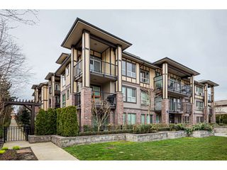 "Main Photo: 202 8733 160 Street in Surrey: Fleetwood Tynehead Condo for sale in ""MANAROLA"" : MLS®# R2444175"