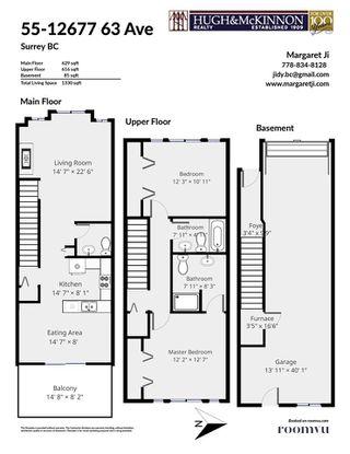 """Photo 4: 55 12677 63 Avenue in Surrey: Panorama Ridge Townhouse for sale in """"SUNRIDGE ESTATES"""" : MLS®# R2461598"""