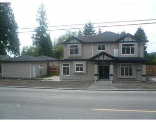 Photo 2: 732 ROBINSON Street in Coquitlam: Coquitlam West House 1/2 Duplex for sale : MLS®# V826752