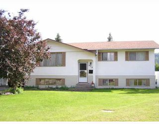 "Photo 1: 4345 DOME Avenue in Prince_George: Foothills House for sale in ""FOOTHILLS"" (PG City West (Zone 71))  : MLS®# N193764"