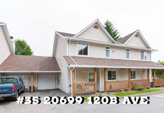 "Main Photo: 35 20699 120B Avenue in Maple Ridge: Northwest Maple Ridge Townhouse for sale in ""THE GATEWAY"" : MLS®# R2389425"