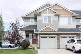 Photo 1: 44 2004 Trumpeter Way NW in Edmonton: Zone 59 Townhouse for sale : MLS®# E4172445