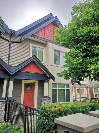 """Photo 1: 11 7028 ASH Street in Richmond: McLennan North Townhouse for sale in """"Granville Gardens"""" : MLS®# R2390166"""