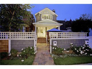 Main Photo: CORONADO VILLAGE House for sale : 3 bedrooms : 817 G in Coronado