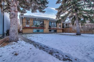 Main Photo: 607 24 Avenue NW in Calgary: Mount Pleasant Duplex for sale : MLS®# C4291194