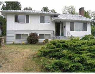 Photo 1: 687 POIRIER ST in Coquitlam: Central Coquitlam House for sale : MLS®# V559593