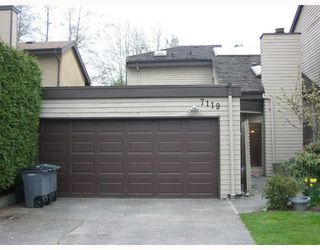 "Photo 1: 7119 CAMANO Street in Vancouver: Champlain Heights Townhouse for sale in ""Solar West"" (Vancouver East)  : MLS®# V761348"