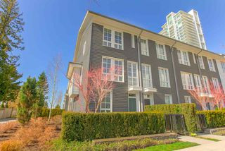 "Photo 2: 124 528 FOSTER Avenue in Coquitlam: Coquitlam West Townhouse for sale in ""BLACK & WHITE"" : MLS®# R2453802"