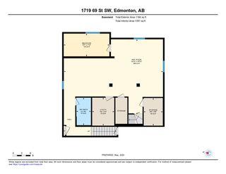 Photo 47: 1719 69 Street SW in Edmonton: Zone 53 House for sale : MLS®# E4198055
