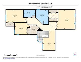 Photo 46: 1719 69 Street SW in Edmonton: Zone 53 House for sale : MLS®# E4198055